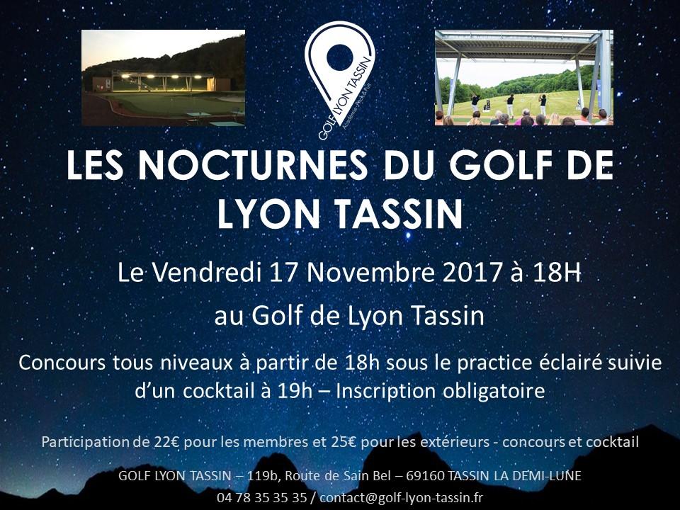 Les Nocturnes du Golf Lyon Tassin !