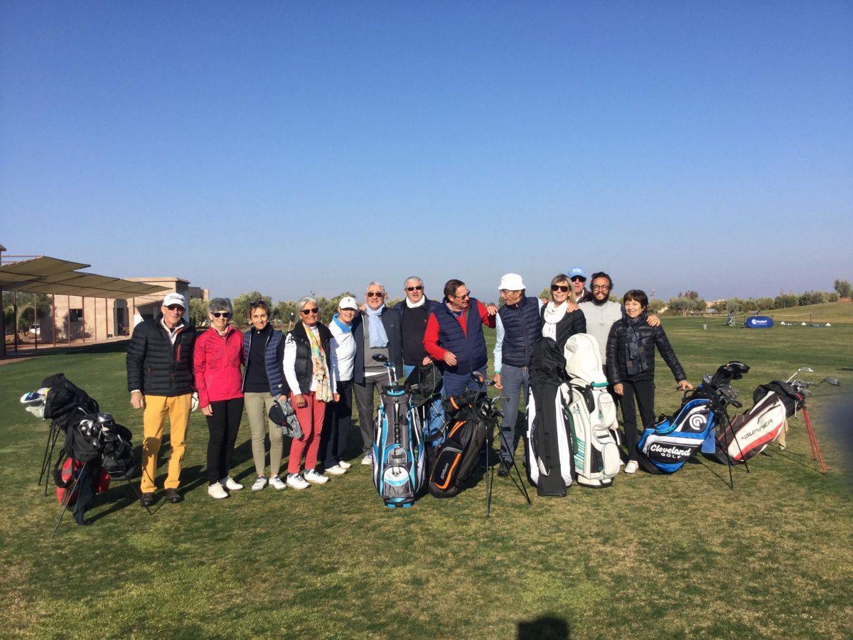 Premier voyage golfique à Marrakech