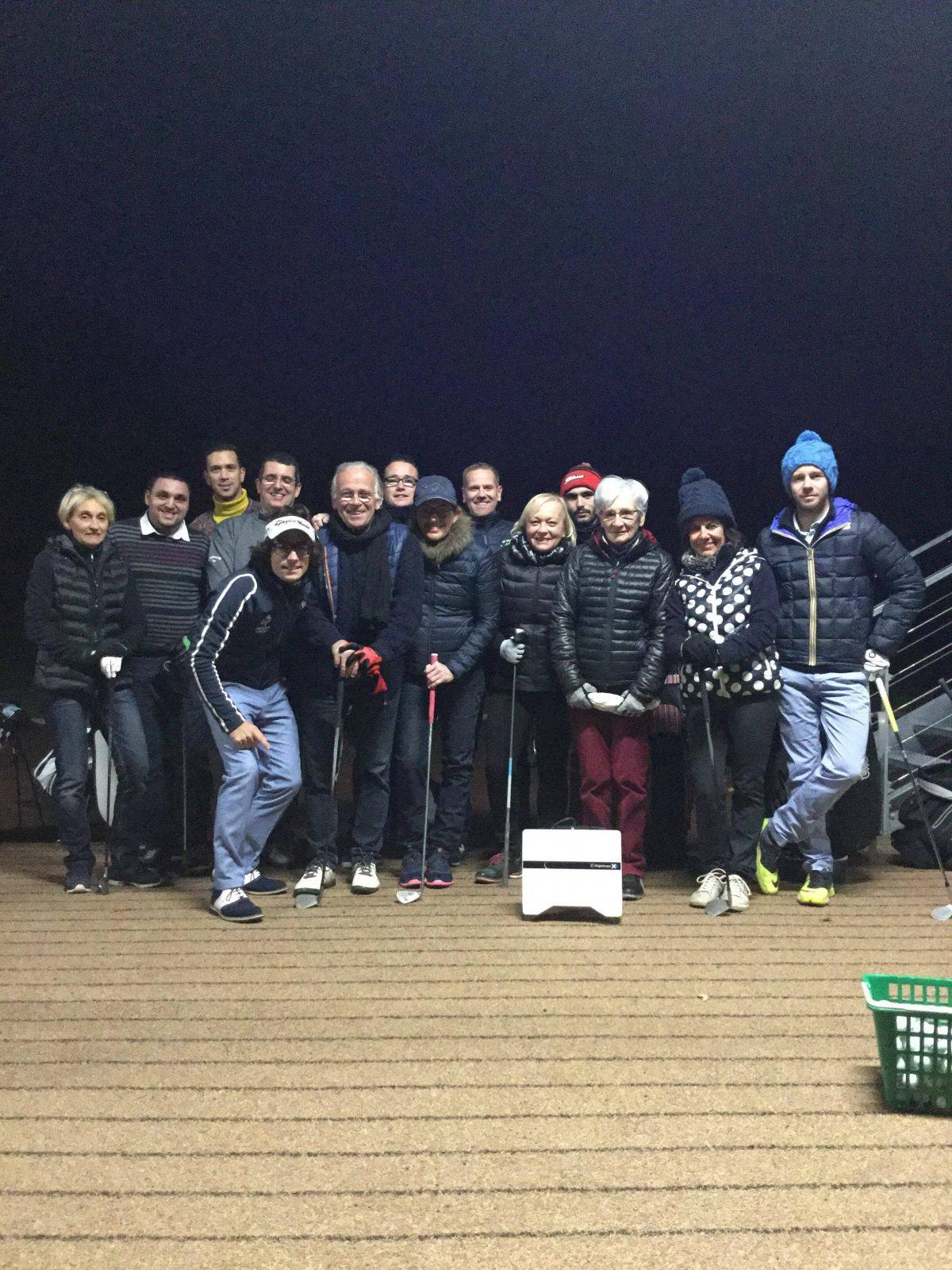 Nocturne du golf de Lyon Tassin