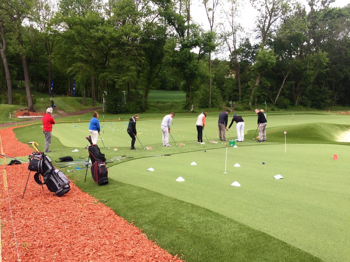 Cours collectifs adultes de golf !
