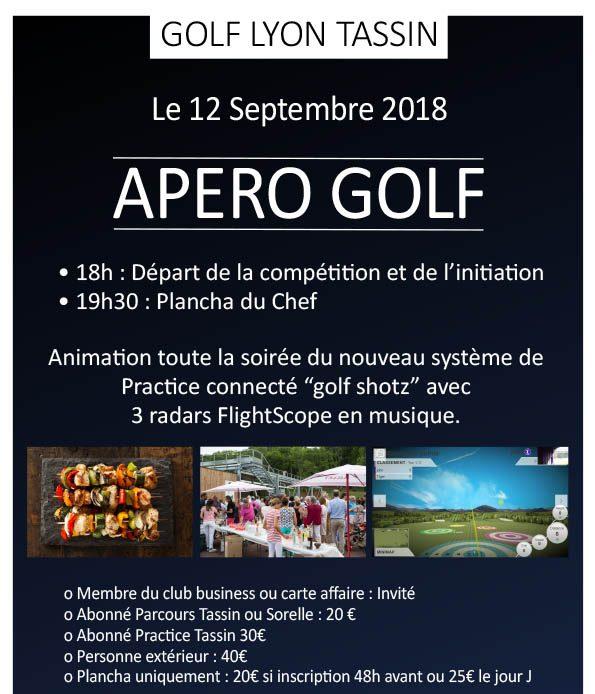 Apéro golf de Septembre