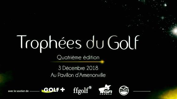 Le Golf de Lyon Tassin nommé au titre de Club de Golf de l'Année 2018 !!
