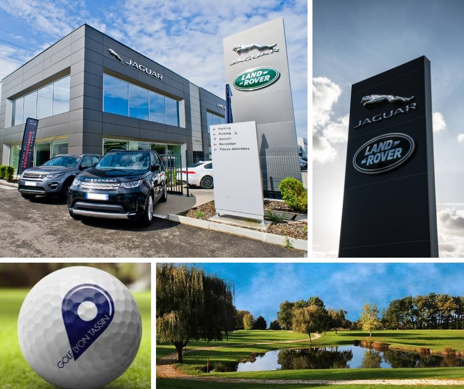 Jaguar Land Rover Automotion s'associe au Golf de Lyon Tassin !