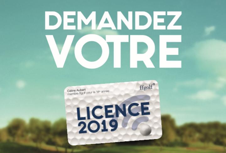 Commandez votre licence 2019 !