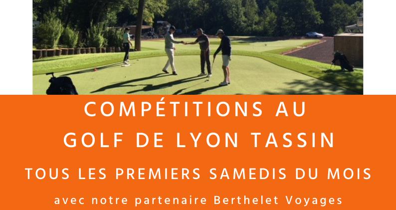 Compétitions au Golf de Lyon Tassin 2019