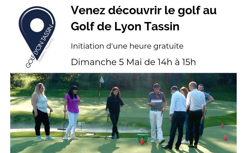 Initiation golfique gratuite