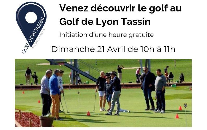 Initiation au golf gratuite