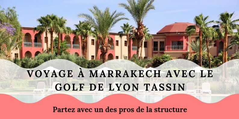 Seconde semaine pour un séjour golfique à Marrakech