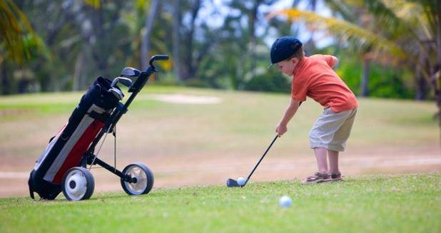 L'école de golf Enfant de retour !