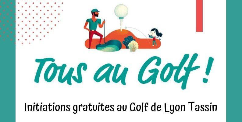 """Initiations gratuites """"Tous au Golf"""""""