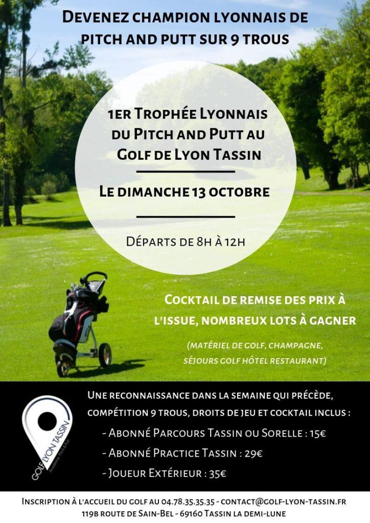 Trophée Lyonnais du Pitch & Putt au Golf de Lyon Tassin