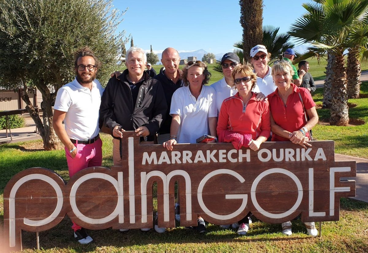 Retour en image sur le voyage golfique à Marrakech