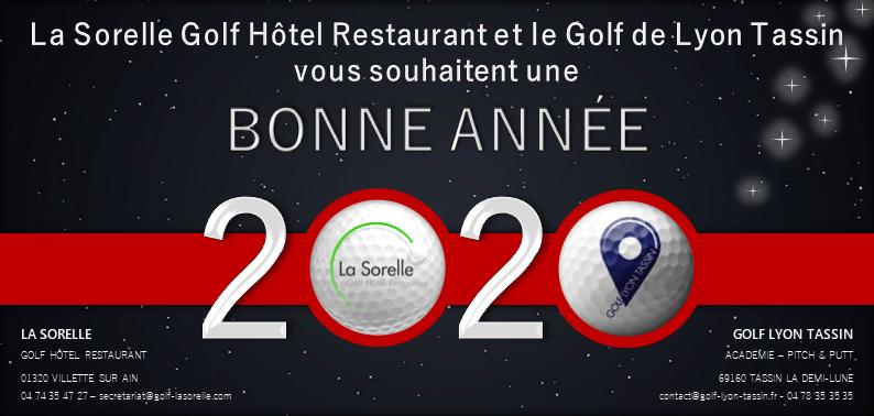 Bonne Année Golfique 2020