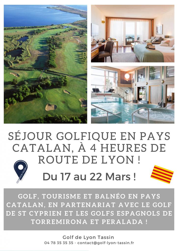 séjour golfique en Pays Catalan