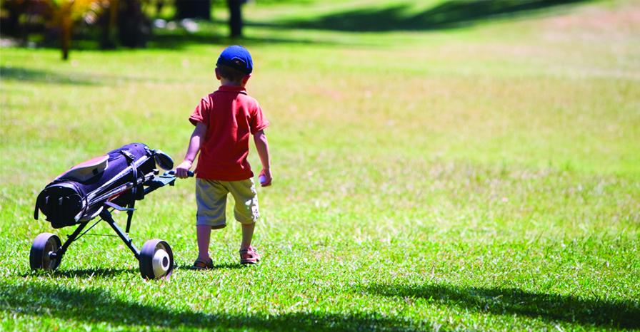 L'école de golf enfant de retour en Septembre !