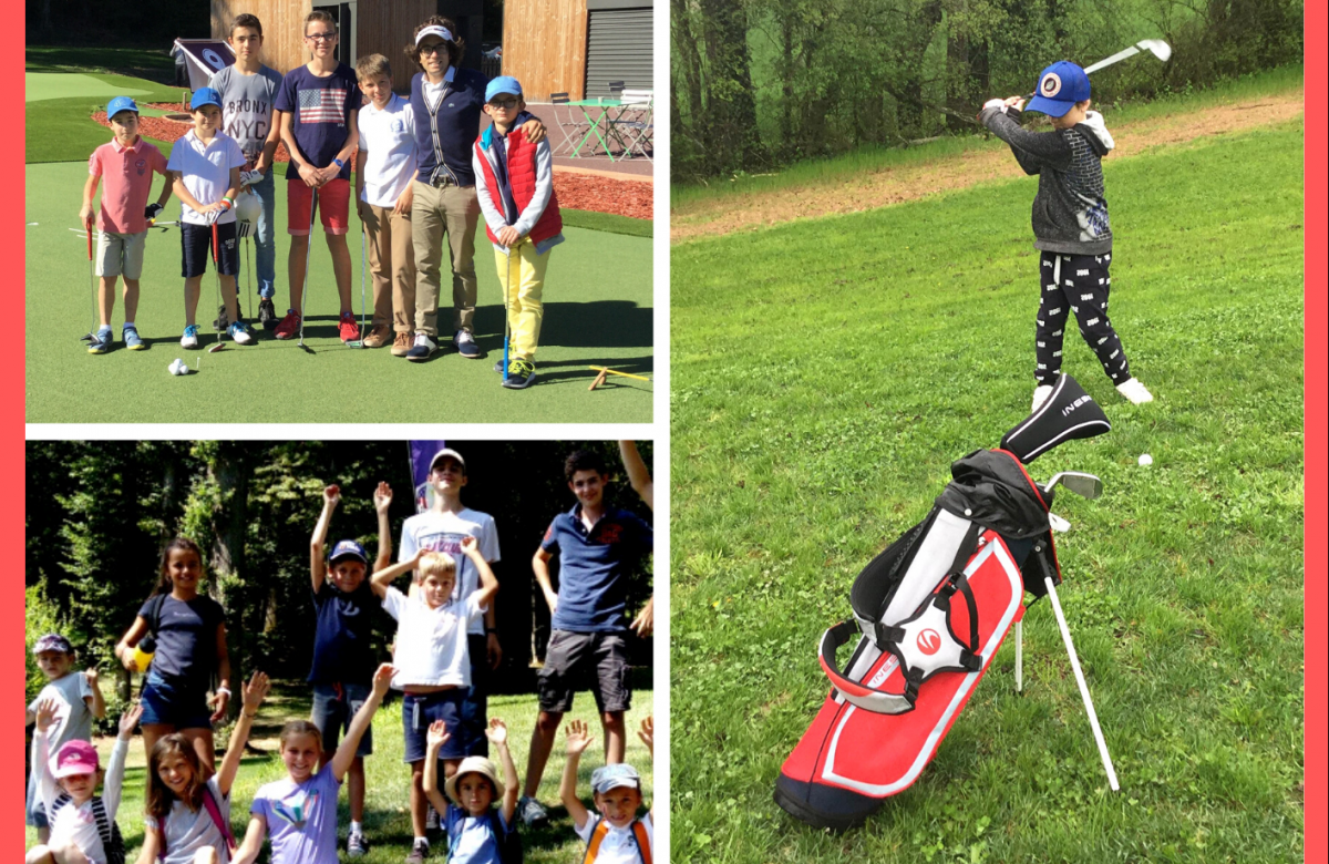 Retour des stages Juniors de golf
