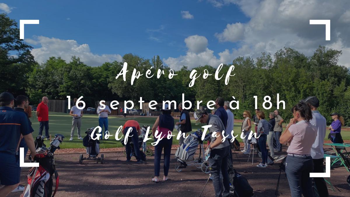 Informations AperoGolf du 16 septembre