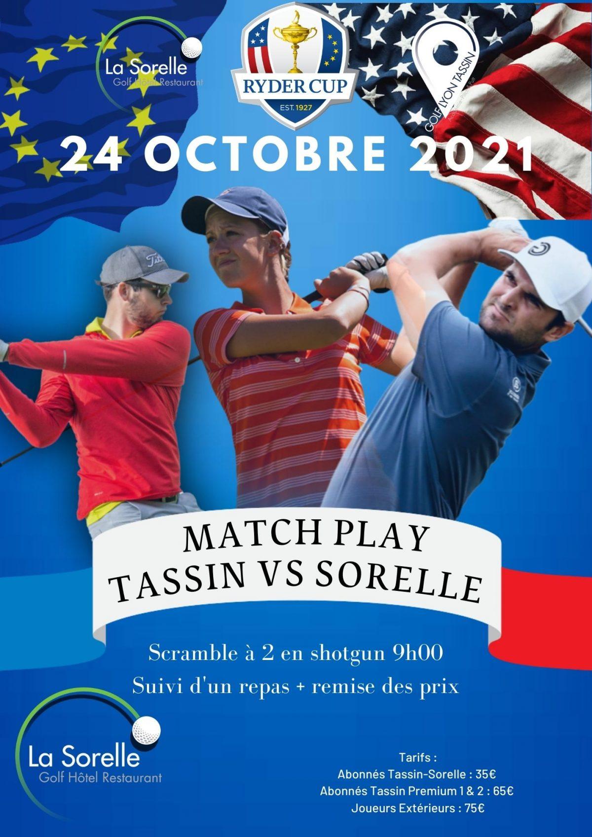 TASSIN VS LA SORELLE : RYDER CUP